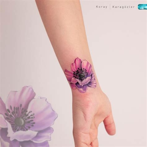 flower tattoo cover   wrist  tattoo ideas gallery