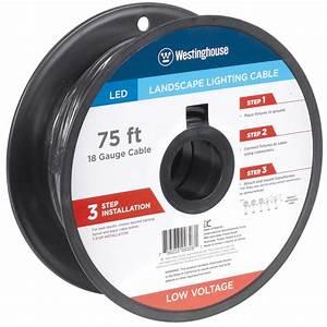 75 Ft  18-gauge Low Voltage Cable-700026