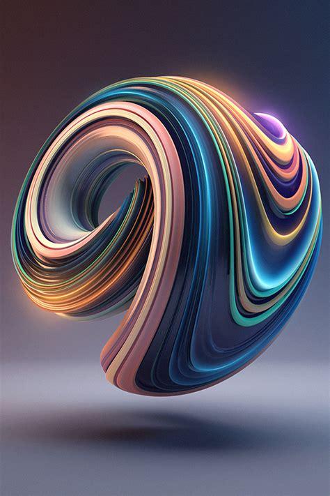 bb digital art color circle illustration art  wallpaper