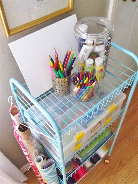 diy craft down the house on hillbrook to the wire diy craft cart via thrifty thursday