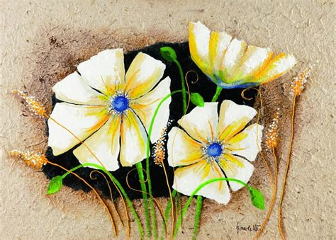 anemone reproduction anemone in frame reproduction d art tableau acheter le