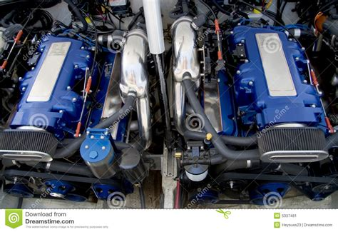 Z Boat Engine by Speed Boat Engines Stock Image Image Of Expensive