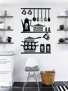 Retro Kitchen Wall Sticker by Vinylize Wall Deco