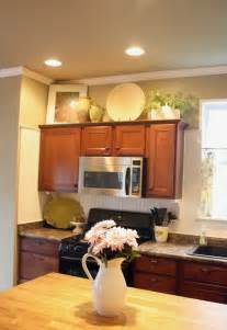 ideas for above kitchen cabinets decorating above kitchen cabinets freshomes