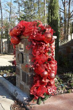 images  christmas mailboxes  pinterest