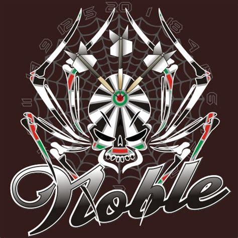 custom design  brady noble  darts shirt designs