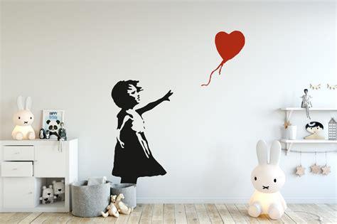 Girl with Balloon Wall Art