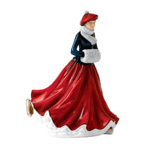 2014 christmas figurine of the year festive skating hn 5674 discontinued royal doulton us