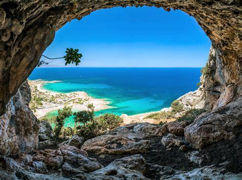 Beach Cave Horizon Ocean Rock Sea Tropical Turquoise ...