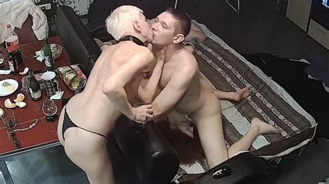 Horny Blonde MILF In Hard Fuck Orgy Foursome Group
