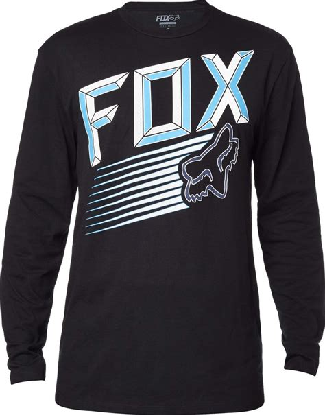 fox motocross shirt fox racing mens efficiency long sleeve motocross t shirt