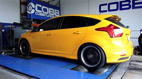 ford focus st tuning cobb tuning dyno 240 whp 353 wtq 2013 ford focus st
