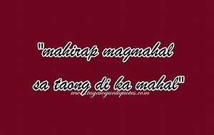 Tagalog Sad Love Quotes. QuotesGram