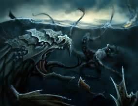 Kraken vs Leviathan