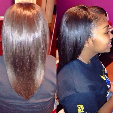 Partial Weave Sew In Hairstyles by Partial Weave Hairstyles Fade Haircut