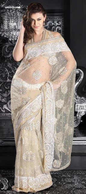 women fashion trend party wear net sarees