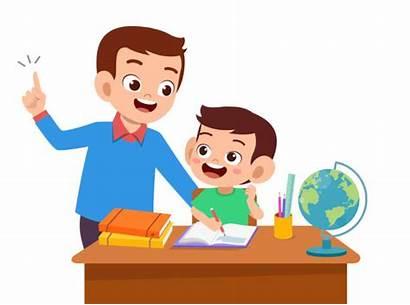 Parent Kid Teach Parents Clip Help Homework