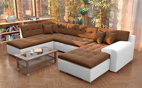 sofá em u bramante u shaped sofa bed vamosi milan london