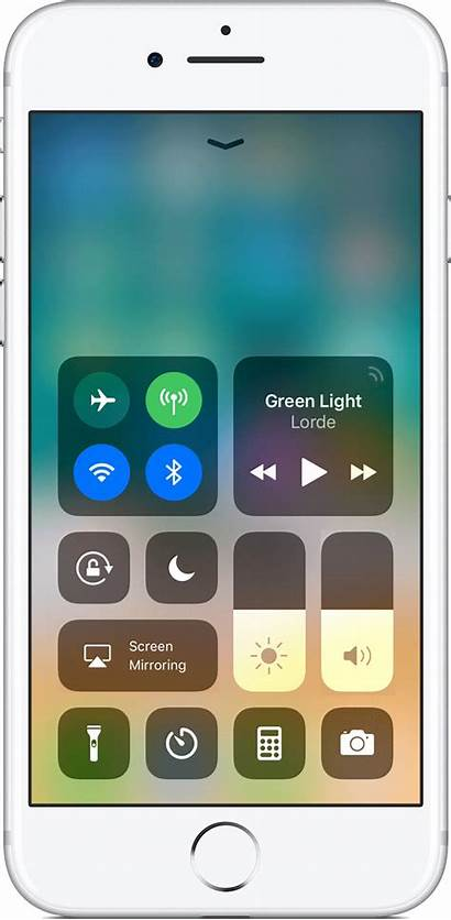 Iphone Apple Control Center Settings Ios Ipad