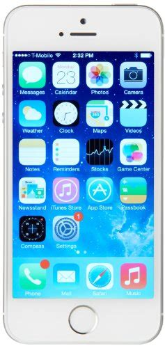 iphone 5s t mobile cheap apple iphone 5s 16gb silver t mobile mobile phone