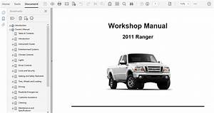 2011 Ford Ranger Repair Manual