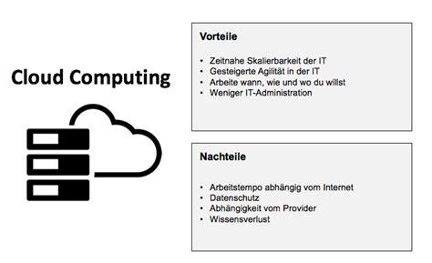 vorteile und nachteile risiken und nachteile cloud computing agile unternehmen