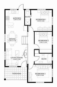 Single Story Pinoy House Plan Floor Area 90 Square Meters