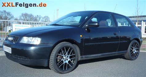 Audi A3 8l Dbv Arizona Black Felgen 17 Zoll