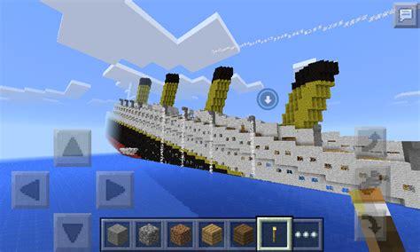 Minecraft Titanic Sinking Map Rms Titanic Sinking In Minecraft Pocket Edition Mcpe Maps Minecraft Pocket Edition
