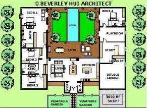 us homes floor plans u shaped house plans with pool in the middle courtyard horseshoe design by architect my