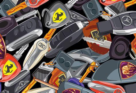 Luxury Car Keys Pattern (sprayground Backpack) On Pantone
