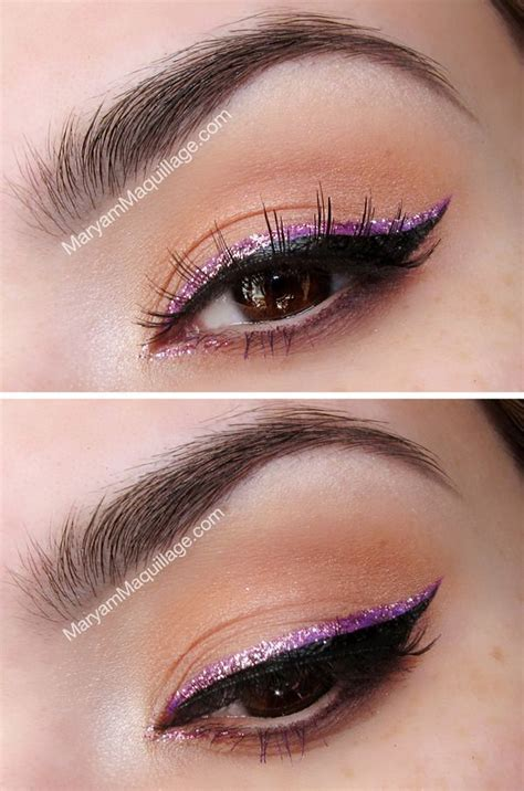 glitter eye makeup ideas  spring pretty designs