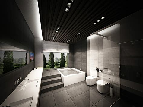Inspiration Modern Bathroom Designs With A Creative Decor Looks More Perfect