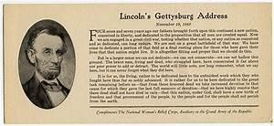 Gettysburg Address, 1863 | Abraham Lincoln