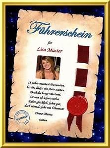 Geschenk Zum Führerschein : urkunde als geschenk f hrerschein bestanden ~ Jslefanu.com Haus und Dekorationen