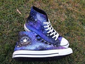 Galaxy Converse · A Pair Of Patterned Shoes · Art