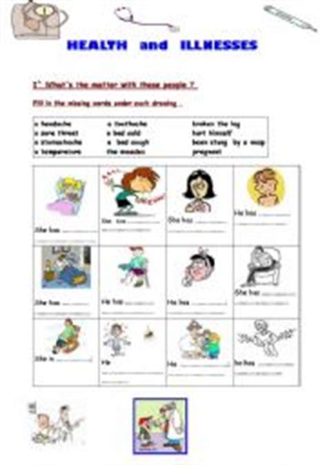 diseases worksheets