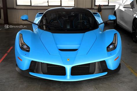 This vehicle is an experience like no other to. Baby Blue LaFerrari Filmed Up Close