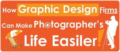 graphic design firm graphic design firms can make photographer s easier