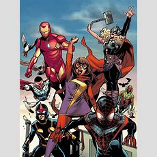 Allnew Alldifferent Marvel Is 'beginning Of Next 50 To 75 Years' For Publisher Newsaramacom