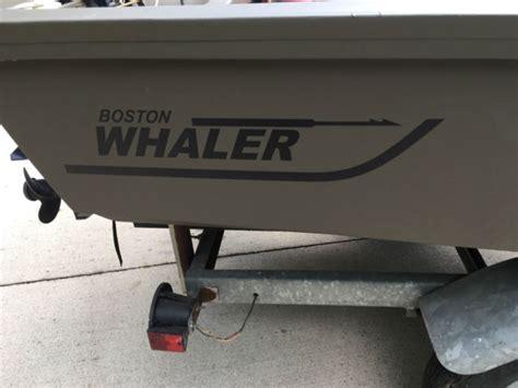 Boston Whaler Duck Boat by 1967 Boston Whaler 13 Sport Duck Boat Green Boston