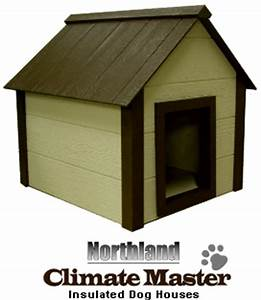 6 warm houses and gadgets to keep your dog toasty this winter for Insulated dog houses for winter