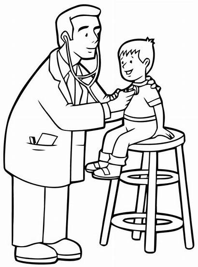 Hospital Coloring Pages Printable Medical