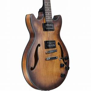 Disc Ibanez Am73b Electric Guitar  Tobacco Flat At