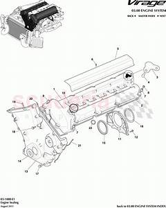 Aston Martin Virage Engine Sealing Parts