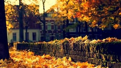 Town Wallpapers Mac Autumn Desktop Stadt Gemerkt