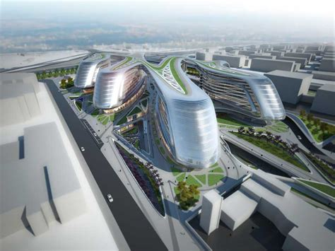 Hongqiao Soho Zaha Hadid Shanghai Architect