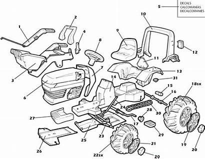Deere Diagram John Parts Tractor Loader Peg