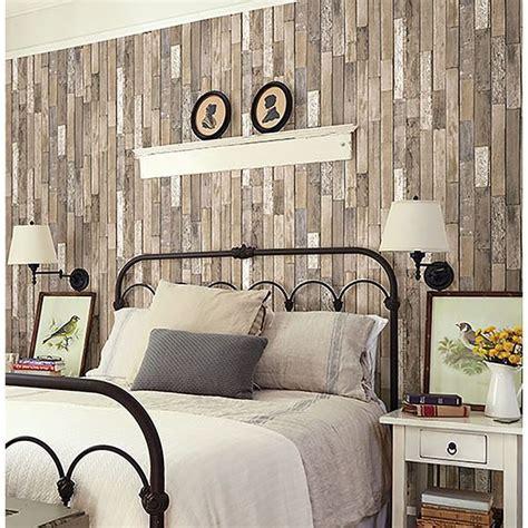 fd thin plank brown barn board  brewster home fashions