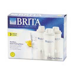 brita pitcher replacement filters 3 pack blue white pk
